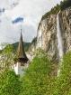 Staubbach Falls a...