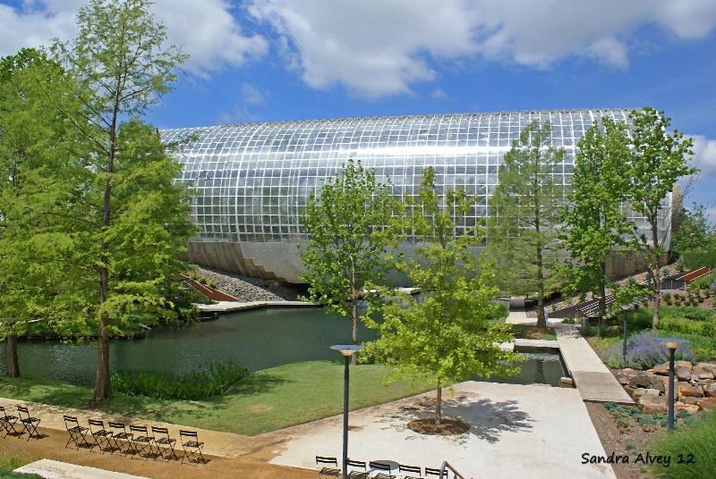 The Crystal Bridge Botanical Garden, OKC, OK