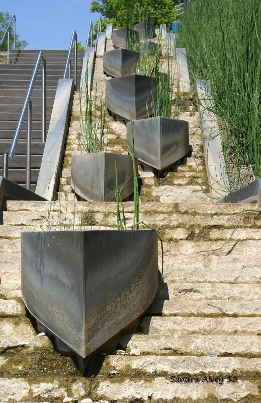 Step Pyramid, Botanical Garden, OKC