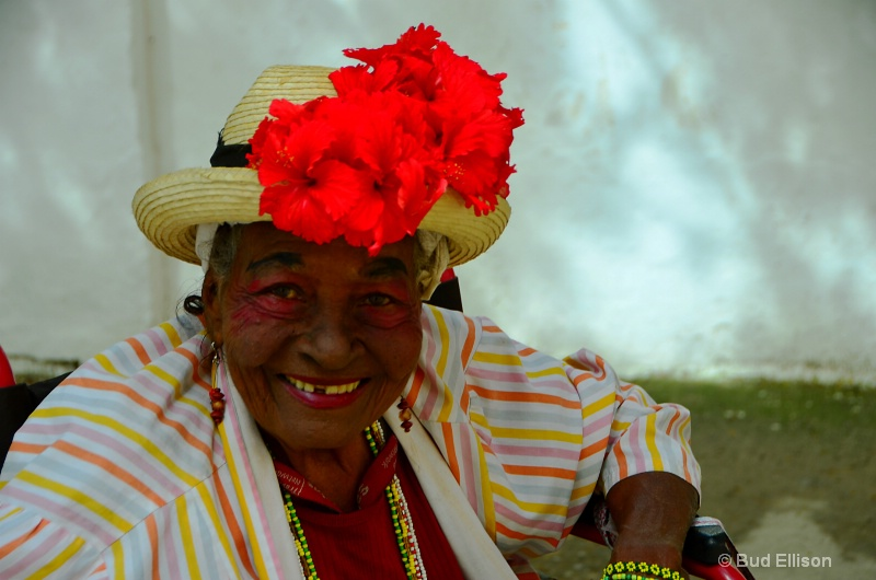 Beautiful Lady In Havana Viejo