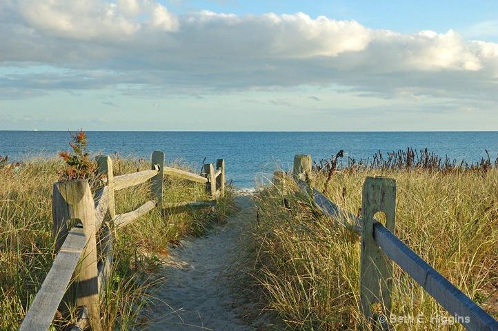Path to Long Beach Centerville - ID: 13045576 © Beth E. Higgins