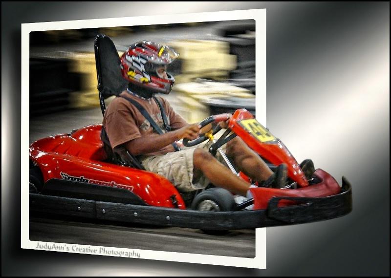 Go-cart Tech - ID: 13071799 © JudyAnn Rector