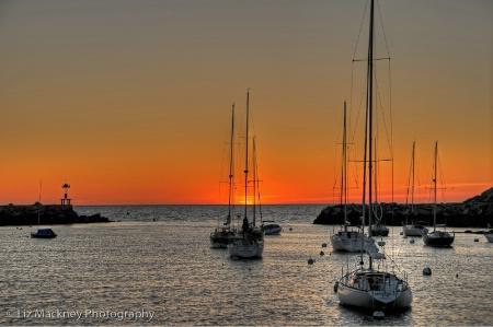 Sailboat Sunrise