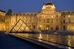Louvre at night, ...