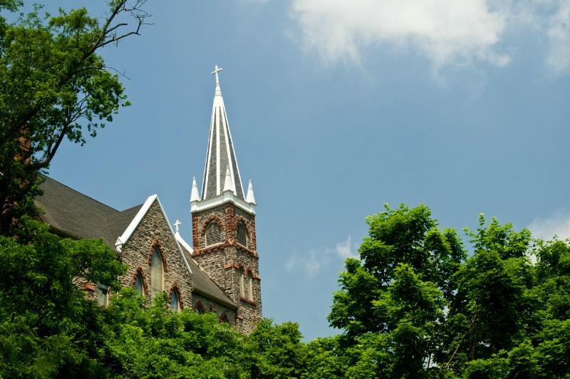 Harpers Ferry Church - ID: 13090706 © Don Johnson