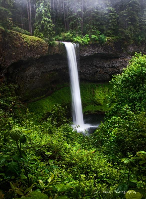 South Falls, Silver Falls State Park,Oregon