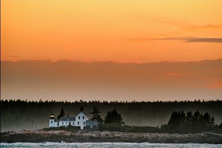 Sunset, Schoodic Point
