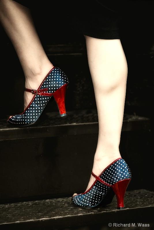 """I Love These Shoes"" - ID: 13141311 © Richard M. Waas"