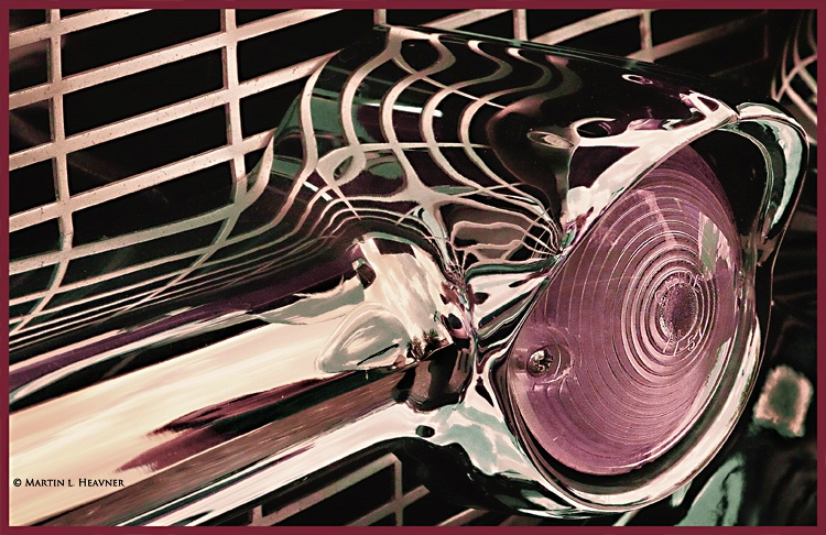 '57 Chevy Classic Grill - Topaz'd - ID: 13159946 © Martin L. Heavner
