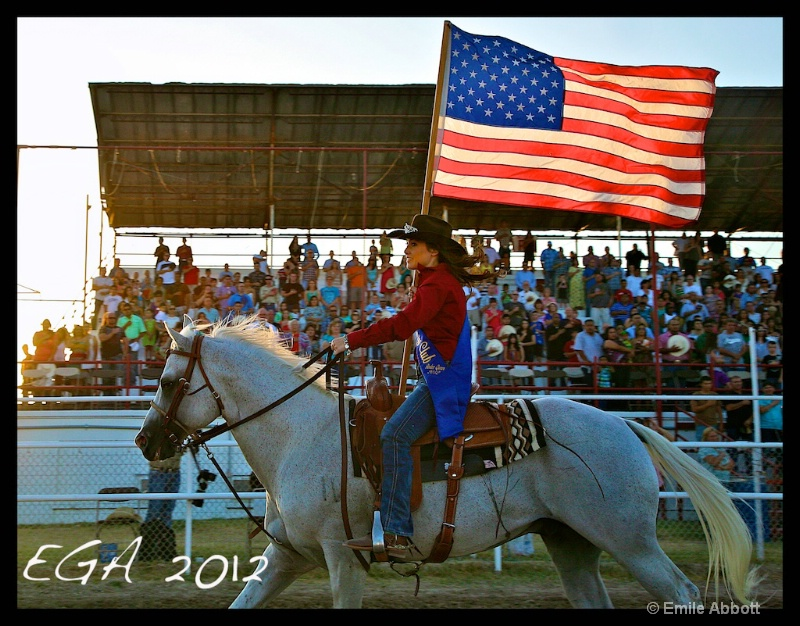 """Celebrating """"Old Glory and Proud"""" - ID: 13164384 © Emile Abbott"""