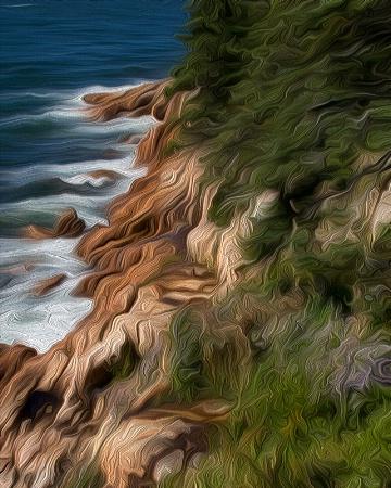 Rock Bound Coast