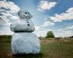 Frosty in July