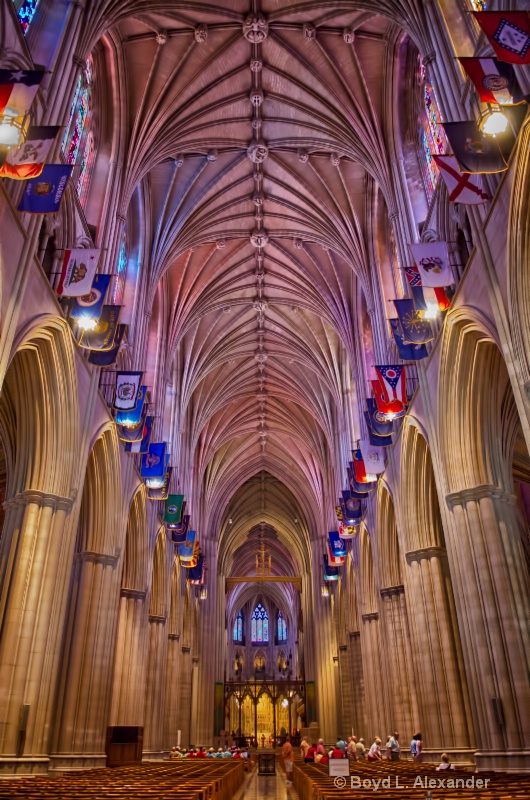 Touring The Washington National Cathedral