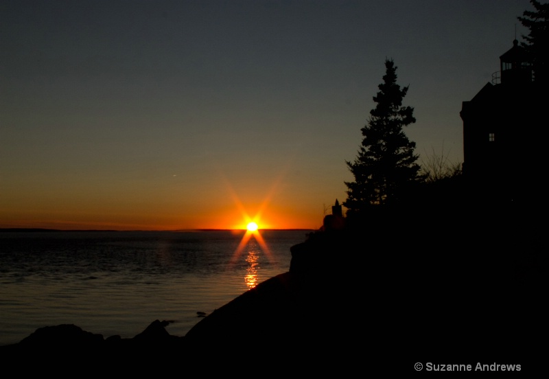 Bass Harbor Sunset - ID: 13170548 © Suzanne Andrews