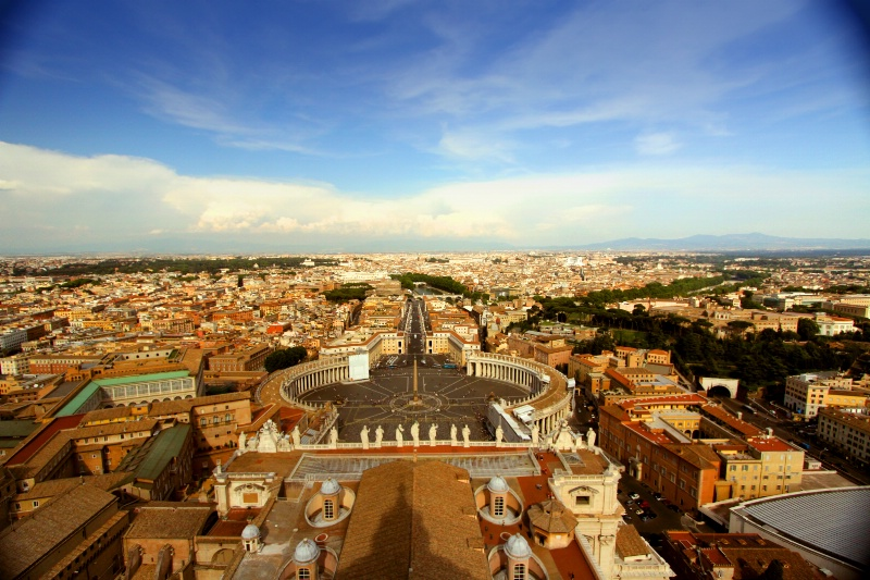 Rome from a top of St. Peter's