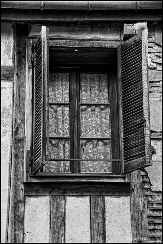 french window 3-b w - ID: 13175849 © Annie Katz