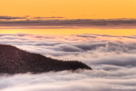 Sunrise on the Clouds