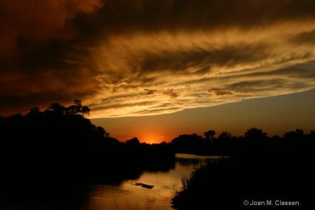 A Nebraska Sunset