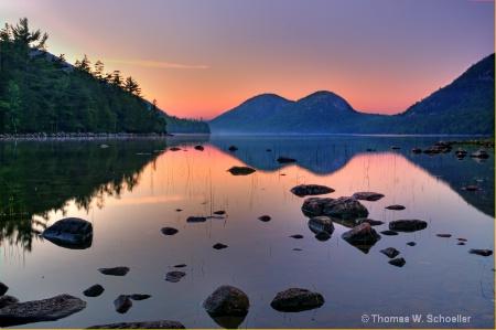 Jordan Pond~Acadia National Park
