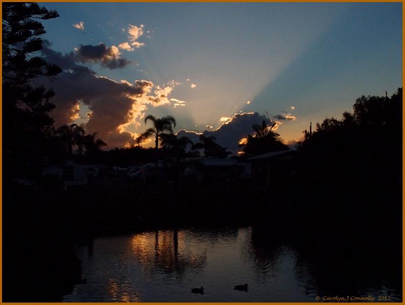 * Sunset Serenity *<p>