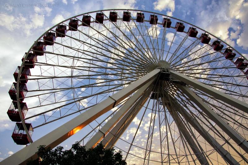Navy Pier Ferris Wheel - ID: 13235672 © JudyAnn Rector