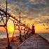 © Leland N. Saunders PhotoID# 13263043: South Haven Lighthouse 5 / Micah 6:8