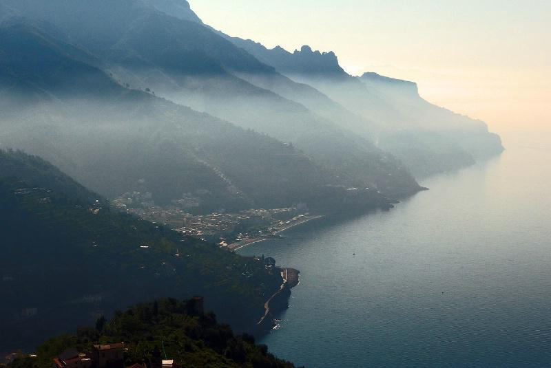 Amalfi Coast from Ravello - ID: 13269360 © STEVEN B. GRUEBER
