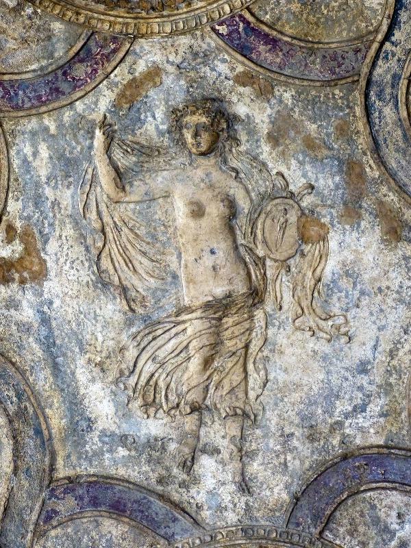 Bas Relief in Blue-Purple (Pompeii) - ID: 13269392 © STEVEN B. GRUEBER