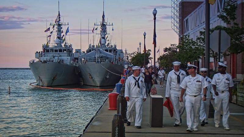 R&R at Navy Pier
