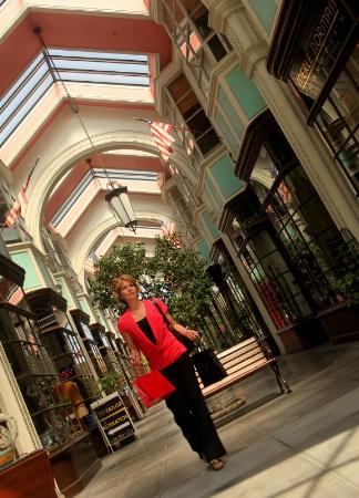 Woman Shopping, Burlington Arcade