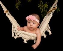 Baby's first portrait