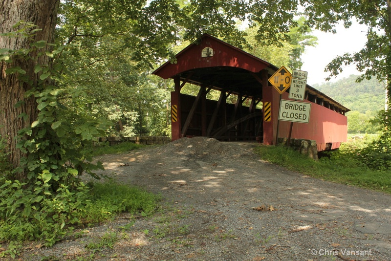 20120722 2990 Keefer Station Covered Bridge, PA - ID: 13352390 © Chris Vansant