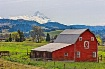Barn near Mt. Hoo...