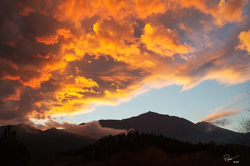 Sunset On My Mountain