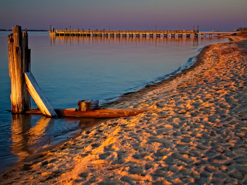 Sunset On Fire Island - ID: 13404667 © Karen Celella