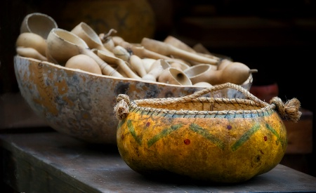Bowl and Ladles