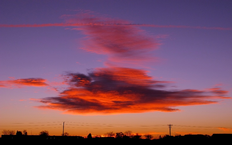 High Wire Sunrise.