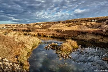 Autumn Prairie Valley