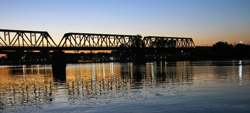 River at Twilight - ID: 13482327 © JudyAnn Rector