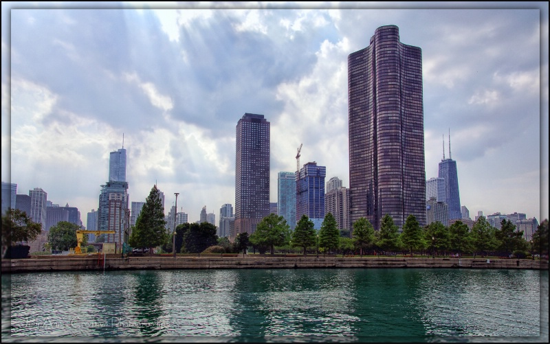 Chicago Skyline - ID: 13482329 © JudyAnn Rector
