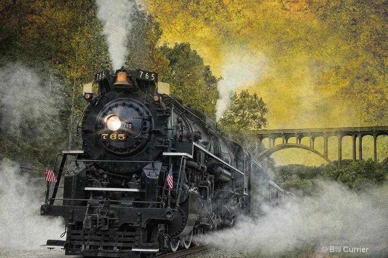 Blowing off Steam - ID: 13537125 © Bill Currier