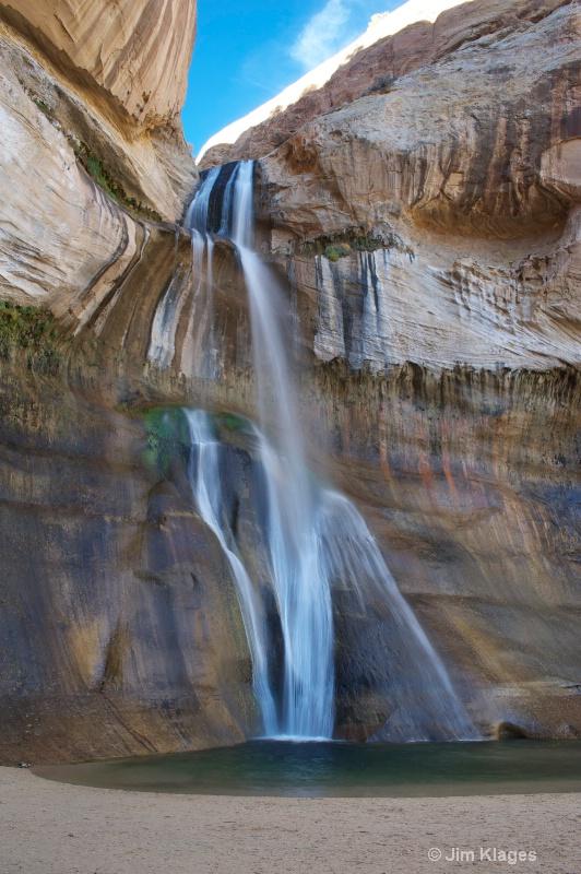 Lower Calf Creek Falls - ID: 13540765 © Jim Klages