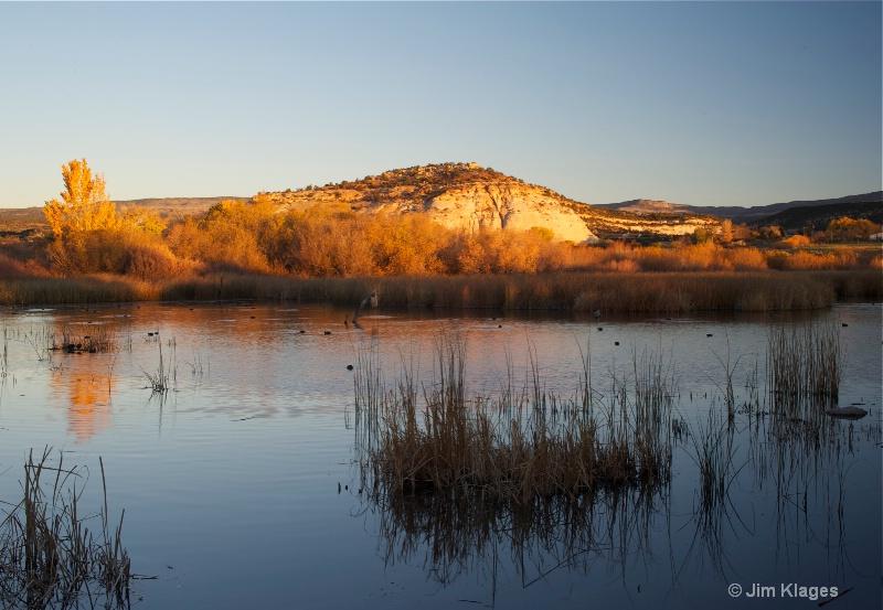 Pond at Boulder Mountain Lodge - ID: 13541586 © Jim Klages