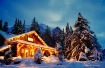 Cabin at Christma...