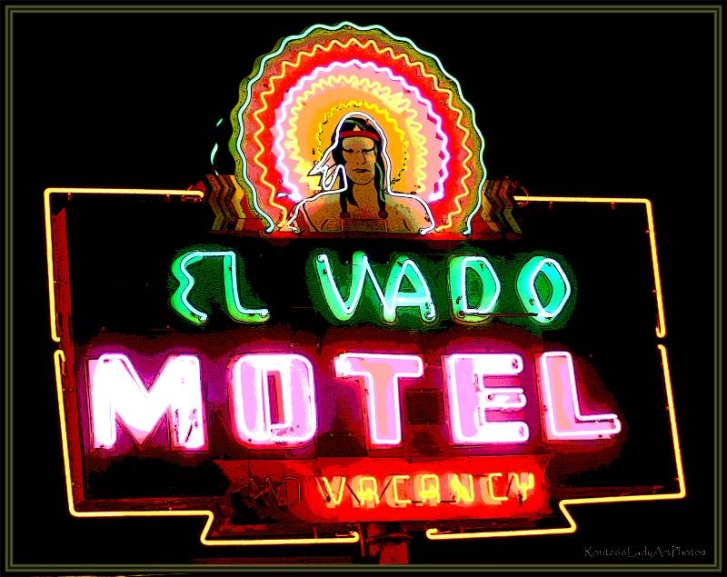 El Vado Motel - ID: 13564672 © JudyAnn Rector