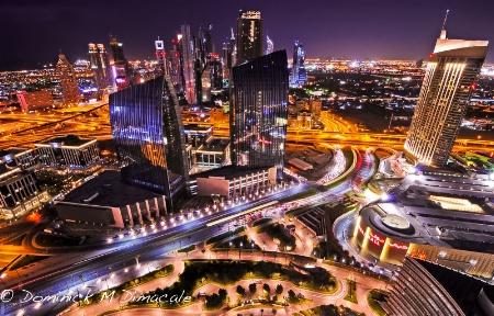 ~ ~ DUBAI AT NIGHT ~ ~