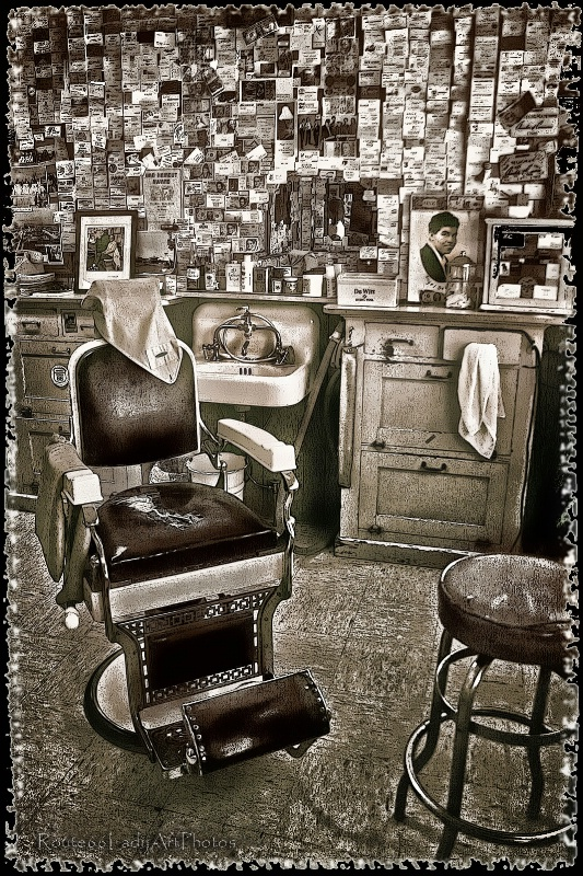 Angel's Barber Shop - ID: 13591255 © JudyAnn Rector