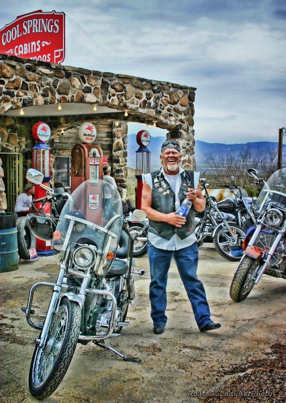 Biker Dude - ID: 13594888 © JudyAnn Rector