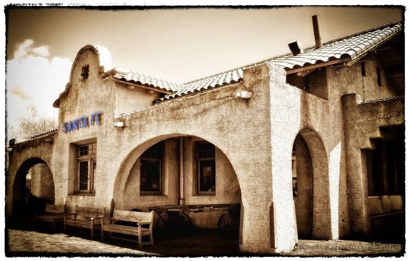 Santa Fe Depot - ID: 13594895 © JudyAnn Rector
