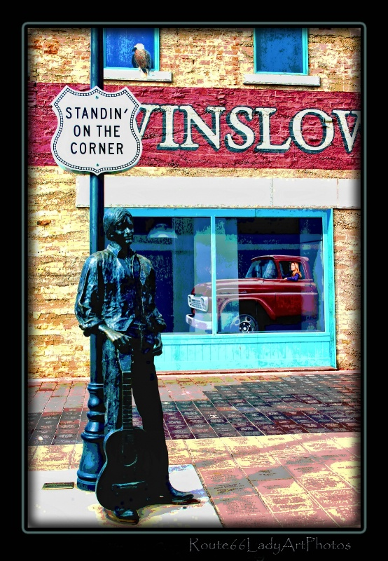 Standin' on the Corner - ID: 13594899 © JudyAnn Rector